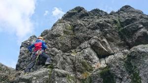 Anwärter Übung Bergwacht Bayerwald