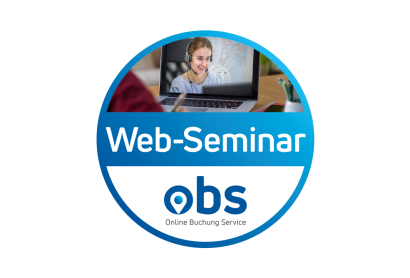 OBS Web-Seminar: Mehr Buchungen durch einen professionellen Online-Auftritt