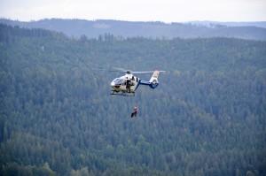 Bergwacht Bayerwald im Einsatz