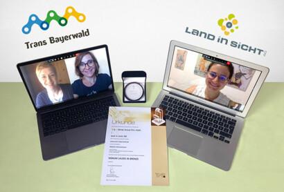 Jurybronze beim T.A.I. WERBE GRAND PRIX für die Website www.trans-bayerwald.de – Wir sind stolz und sagen DANKE…