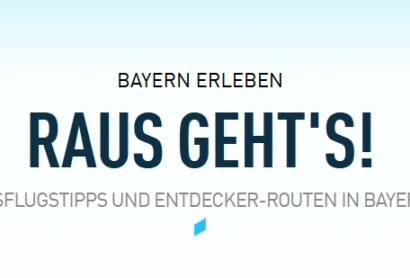 Raus geht's Kampagne der BayTM – Beteiligungsmöglichkeit