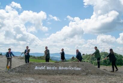 Spatenstich für die Landesgartenschau Freyung 2023