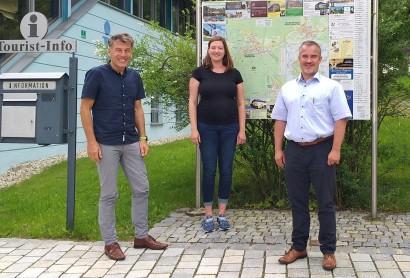 Informationstreffen mit Bürgermeistern aus Frauenau und Bayerisch Eisenstein