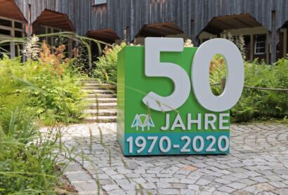 Fotoaktion mit großen Holzwürfeln startet im Nationalpark