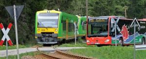 Waldbahn im Bayerischen Wald
