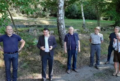 Hoher Besuch im Oberpfälzer Seenland