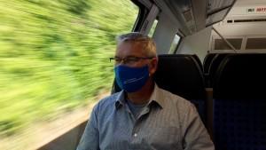 Mund-Nasen-Bedeckung