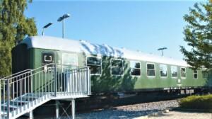 Bahnwaggon Bogen