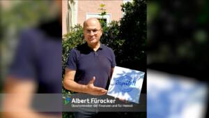 Albert Füracker, Staatsminister der Finanzen und für Heimat