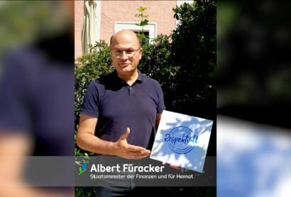 Respektvoll unterwegs: Statement von Staatsminister Albert Füracker