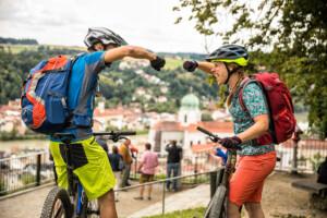 Mountainbiken auf der Trans Bayerwald