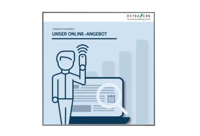"""Druckfrisch erschienen: Flyer """"Unser Online-Angebot – Stark im Tourismus"""""""