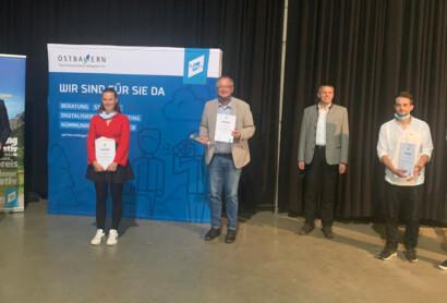 """1. Preis beim Film Award Bayerischer Wald unter der Rubrik """"Aktiver Bayerischer Wald"""""""
