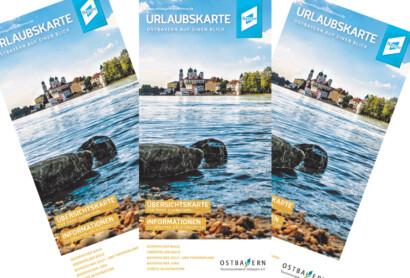 Die Urlaubskarte Ostbayern ist neu erschienen