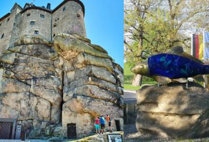 Besuche in Friedenfels und Falkenberg