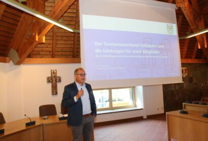 Infovortrag des Verbandes auf der Bürgermeisterdienstbesprechung in Freyung
