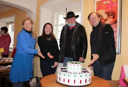 Karin Schmid, Susanne Thöner, Rudolf Schmid und Reinhard Schmid
