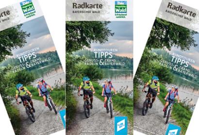 Neu erschienen: Radkarte Bayerischer Wald