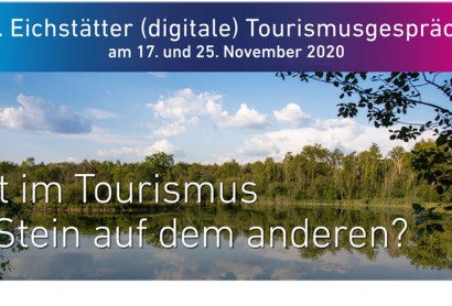 31. Eichstätter (digitale) Tourismusgespräche