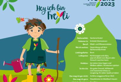 FreYli – Das Maskottchen der Bayerischen Landesgartenschau in Freyung