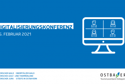 Save the Date: Virtuelle Digitalisierungskonferenz Ostbayern am 25. Februar 2021