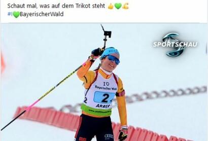 Der Bayerische Wald in der Sportschau – IBU Cup im ARBER Hohenzollern Skistadion