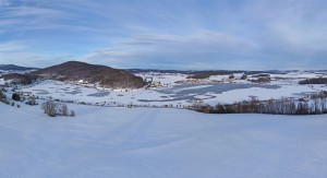 Winterwanderweg am Further Drachensee