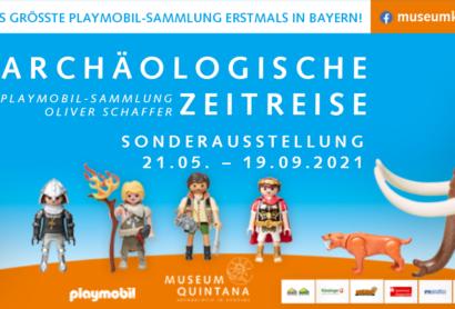 """""""Archäologische Zeitreise – PLAYMOBIL-Sammlung Oliver Schaffer"""" im Museum Quintana"""