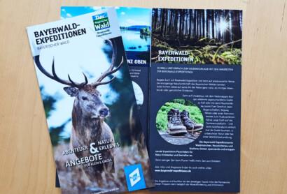 Bayerwald-Expeditionen – Neuer Angebotsflyer erschienen