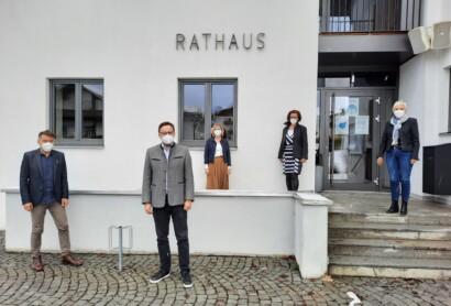 TVO informierte Bürgermeister aus Eppenschlag und Langdorf