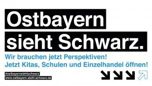 """Initiative """"Ostbayern sieht Schwarz."""""""