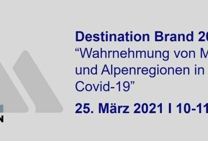 """Marktforschungs-Webinar """"Wahrnehmung von Mittelgebirgen und Alpenregionen in Zeiten von Corona"""""""