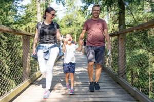 Familie Baumwipfelpfad Bayerischer Wald