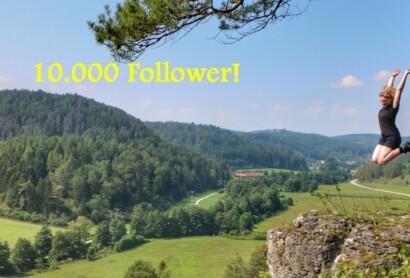 Jurasteig – 10.000 Follower – nächster Meilenstein erreicht