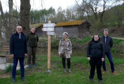 Wanderwegekonzept des Landkreises Schwandorf: Neubeschilderung geht weiter