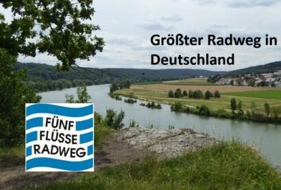 Fünf-Flüsse-Radweg – Größter Radweg in Deutschland (Soziale Medien)