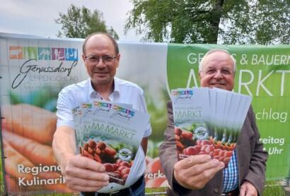 Genuss- und Bauernmarkt in Eppenschlag eröffnet