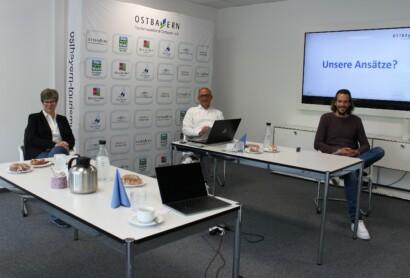 Markus Garnitz besucht Tourismusverband Ostbayern e.V.