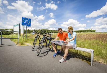 Wegweiser zum Radl-Glück: Neue Radkarte für den Landkreis Tirschenreuth
