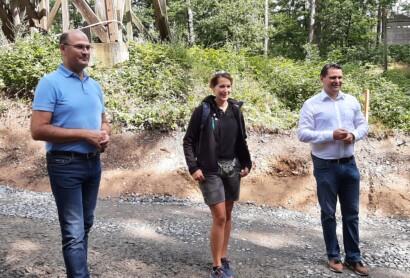 Staatsminister Füracker zu Besuch im Oberpfälzer Seenland