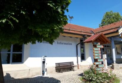 Fahrradreparaturstationen an der Trans Bayerwald