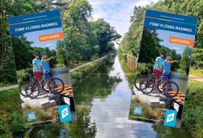 NEU: Gastgeberflyer für den Fünf-Flüsse-Radweg erschienen