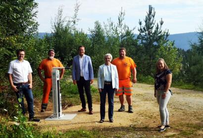 Erste Hilfe für Fahrräder entlang der Trans Bayerwald im ARBERLAND