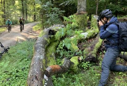 Videodreh auf der Trans Bayerwald gestartet