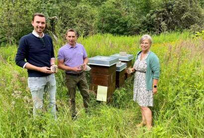 Stadt Schwandorf präsentiert eigenen Honig