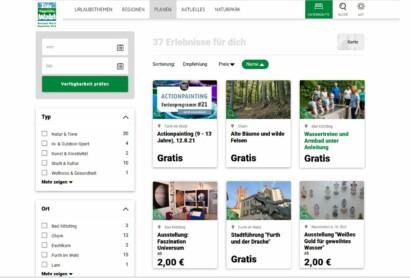 Startschuss im Landkreis Cham: Erlebnisse nun online buchbar!