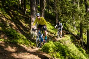 Neuer Stoapfalz-Saubad-Trail im Steinwald zwischen dem Waldhaus und Pfaben.
