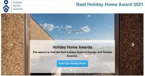 Seite des European Holiday Home Award