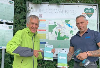 Nordic-Walking Beschilderung aktualisiert
