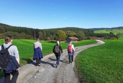 Teilnahme an der feierlichen Eröffnungsveranstaltung des Pilgerwegs Gunthersteig